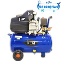 کمپرسوربادسیلندری 24 لیتری