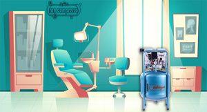 بهترین کمپرسور باد دندانپزشکی-پمپ باد دندانپزشکی