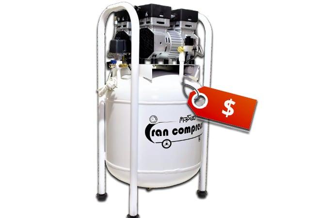 قیمت کمپرسور باد بدون صدا
