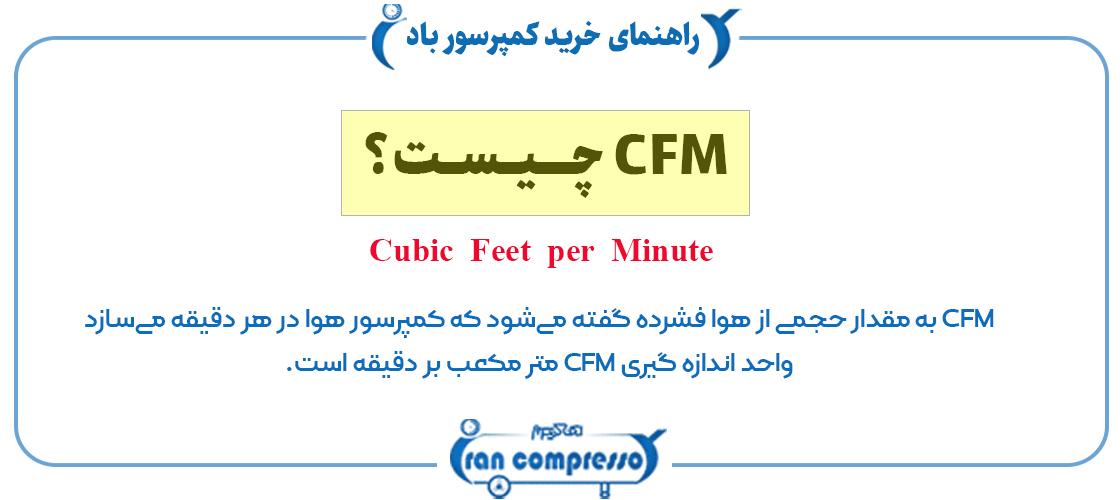 به چه مقدار CFM احتیاج داریم؟
