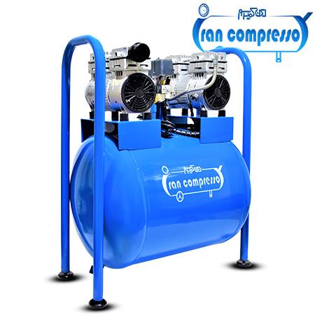 کمپرسور هوا 80 لیتری 2 موتوره