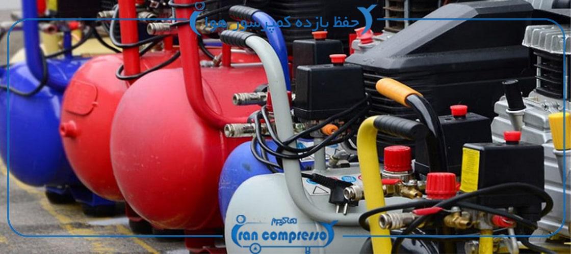 بررسی نیازهای سیستم در خصوص حفظ بازده کمپرسور هوا