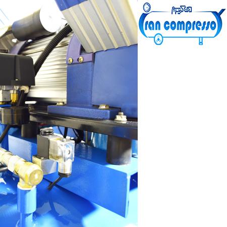کمپرسور باد 200 لیتری بدون روغن صنعتی